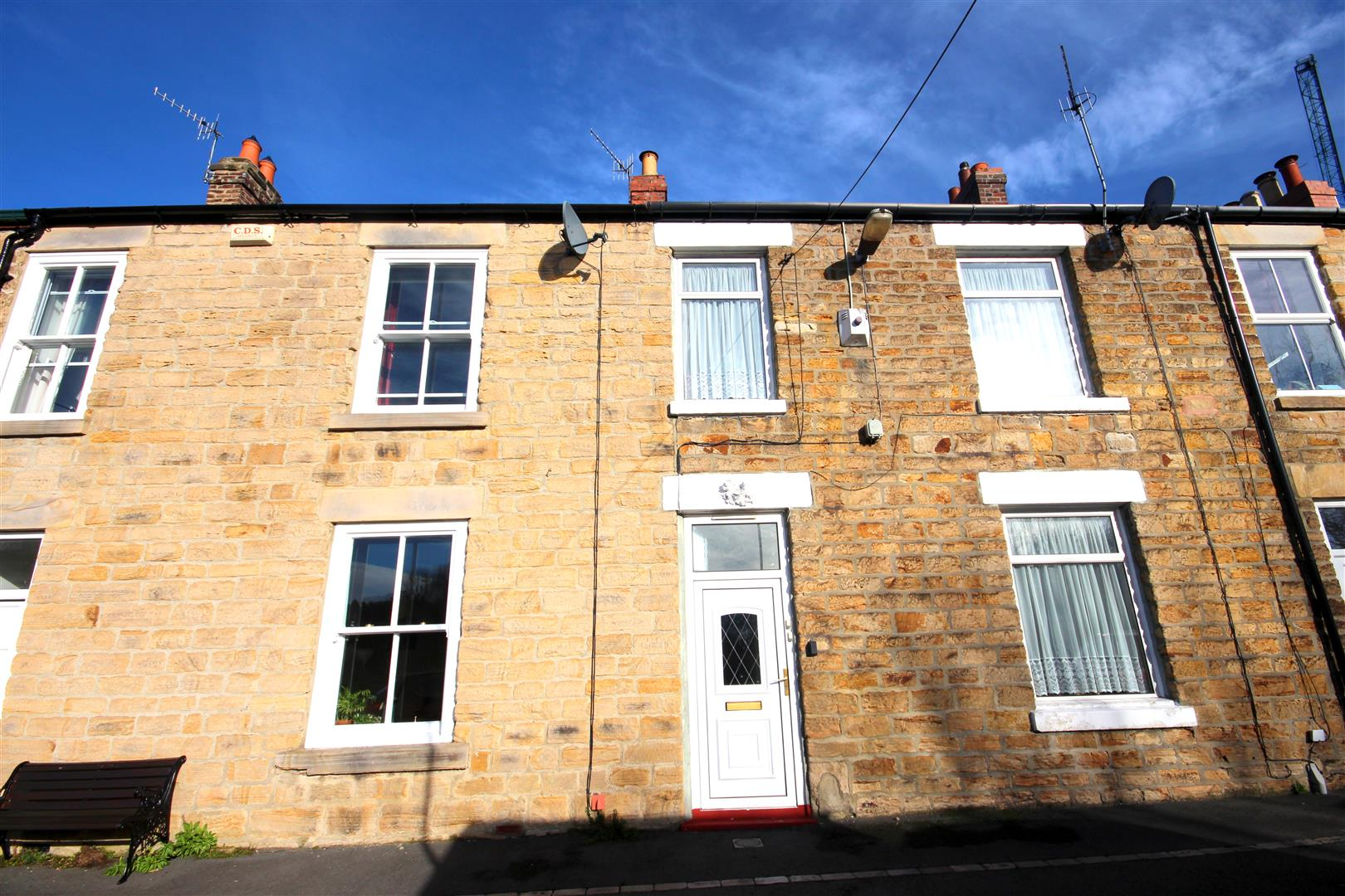 2 Bedrooms Terraced House for sale in Tenter Terrace, Durham